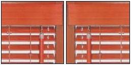 Ovládání dřevěných horizontálních žaluzií