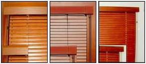 Typy ovládání žaluzií s imitací dřeva